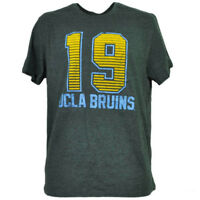NCAA UCLA Bruins Felt 19 Gray Tshirt Tee Mens Adult Short Sleeve Crew Neck Sport
