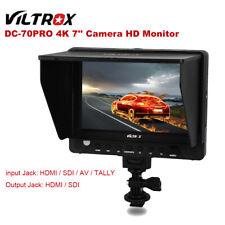 Viltrox DC-70PRO 4K 7'' Camera Video HD Monitor Display 1920x1200 IPS SDI HDMI