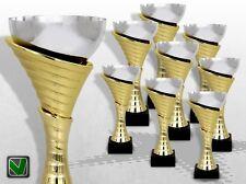 8er Pokalserie ATLANTA mit Gravur günstig kaufen TOP DESIGN Pokale gold silber