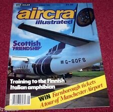 Aircraft Illustrated 1988 August JASDF,Manchester,F-27,Finland,Ryanair,Hungary