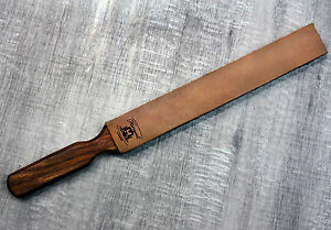 Hunting Leather Barber STROP Straight RAZOR & Knife Sharpening Shave Strap NEW!