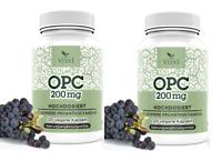 OPC ,Traubenkernextrakt, hochdosiert 240 Kapseln 100% Vegan, Glutenfrei, 200mg