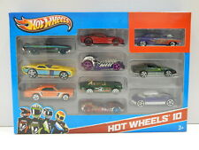 1:64 Hotwheels 10 Car Pack with Ford XB Falcon (Black) Hot Wheels 54886