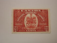 Canada Scott #E8 20 Cent Special Delivery 1938 Coat Of Arms Never Hinged