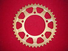 Aprilia RSV4 1000 RF 2015-2017 46T 525 Talon Rear Alloy Gold Anodised Sprocket.