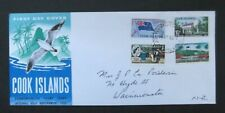 Cook Islands to NZ-1965-Internal Self Gov FDC