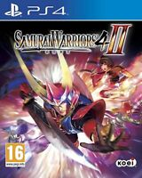Samurai Warriors 4 II PS4 PlayStation 4 Video Game Mint Condition UK Release