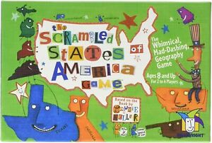 The Scrambled States of America Game (Gamewright, Ceaco)
