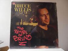 "BRUCE WILLIS - THE RETURN OF BRUNO - MOTOWN-RECORDS - 6222ML -""SEALED"""