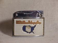 Vintage Penguin US Partititions Packaging Corp. Cigarette Lighter Automatic