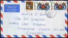New Zealand 1975 Commercial Airmail Cover To UK #C32501