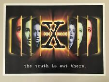 X-FILES,THE TRUTH IS OUT THERE, RARE AUTHENTIC 1995  POSTER