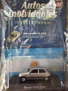 RENAULT 5 GTL (1981) Autos Inolvidables #107 diecast car 1:43