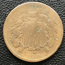 1866 Two Cent Piece 2c Better Grade #14489