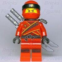 New Ninjago LEGO® Kai Sons of Garmadon Red Fire Ninja Minifigure 70638 Genuine