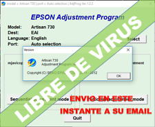 RESET EPSON ARTISAN 730-TX-PX- ver. 2017 - UNLIMITED 1pC- eMAILDE
