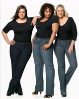 Lane Bryant Venezia Right Fit Jeans (choose color shape size wash inseam style)