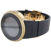 Yellow Diamond I-Gucci Watch Mens Digital Gucci Grammy Edition 2.5 CT. YA114215