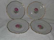 Germany Hutschenreuther China THE DUNDEE 4  8 inch Luncheon Plates 7703