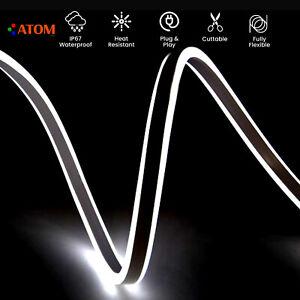 ATOM Led Neon Flex Light Cool White Double Side 220V-240V IP67 Waterproof Flex