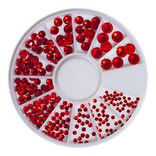 240 Strassstein Rondell Kristall Glas Rot SS3 - SS20 Strass 00960-284-24