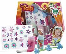Dreamworks Trolls Hair Styling Kit, Colour & Decorate Hair Kit for Girls