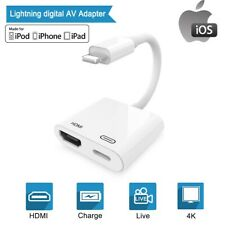 Digital AV Adapter Lightning to HDMI Converter 4K HDTV for All Apple iPhone iPad