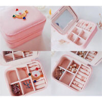 Sailor Moon Zecter Girl's Jewelry Box Portable Travel Storage Jewelry Holder Bag