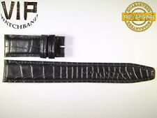 NEW OEM Authentic IWC strap 20 mm alligator IWA55121 BLACK