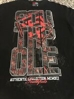 Awesome South Pole Authentic Collection XL Black T-Shirt Vintage Style!!