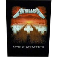 Metallica Master Of Puppets Jacket Back Patch Official Heavy Metal New