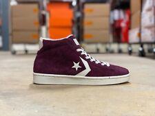 Converse Pro Leather Mid Top Mens Shoes Dark Sangria/Egret 157691C NWB Size 10.5