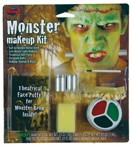 Monster Makeup Kit with Theatrical Face Putty Halloween Special FX