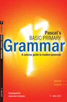Pascal's Basic Primary Grammar Handbook NEW by Pascal Press 9781864410600