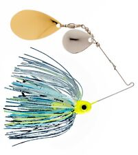 1/4oz Spinner Bait  Toxic Shad - Colorado/Indiana  3-pack FREE SHIPPING!!!!!