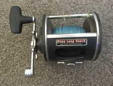 Penn Long Beach 268 Fishing Reel Graphite Frame Made in USA Good Used Condition