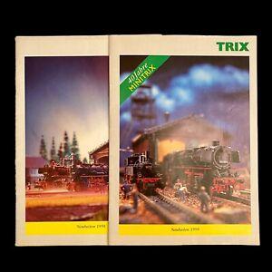 Neuheiten TRIX MINITRIX 1998 1999 Modelleisenbahn Vintage Prospekt 48S. 63S. Alt