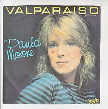 """Paula MOORE Vinyl 45T 7"""" VALPARAISO - I FEEL GOOD - BARCLAY 815801 F Rèduit RARE"""