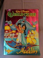 Walt Disney's World On Ice by Kenneth Feld - Aladdin Souvenir Program (1993)