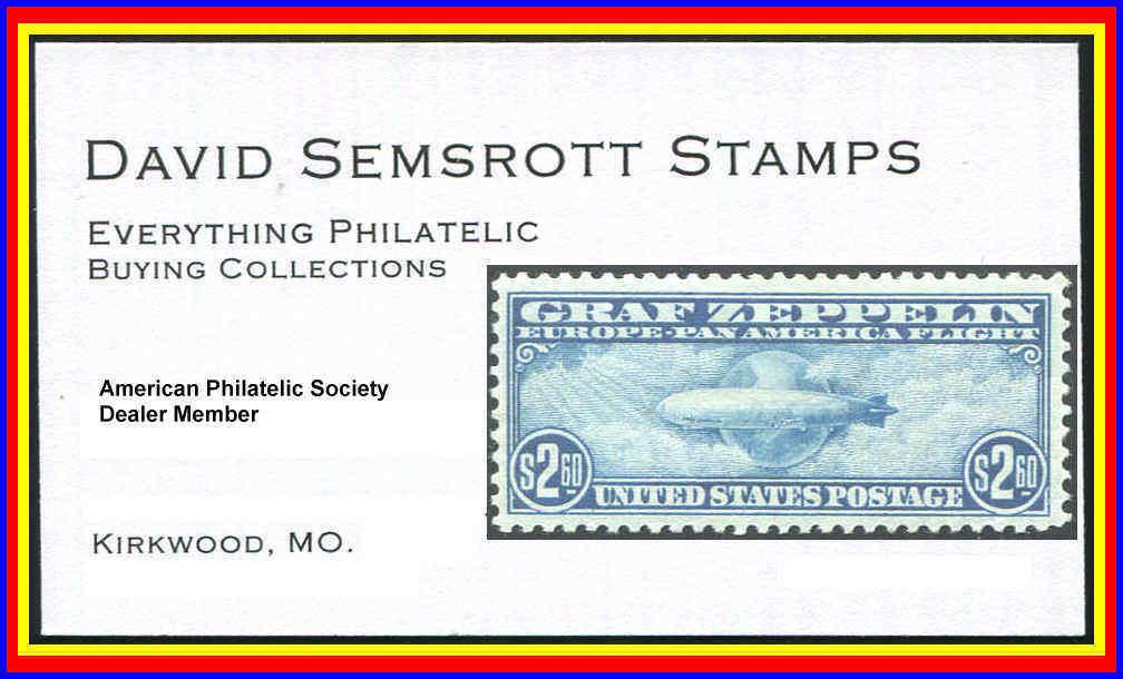 David Semsrott Stamps