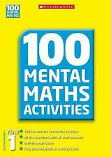 Year 1 (100 Mental Maths Activities), Montague-Smith, Ann, Gronow, Margaret, Exc