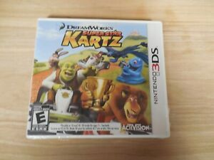 DreamWorks Super Star Kartz (Nintendo 3DS, 2011) brand new