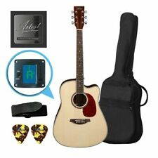 Artist LSPCNT Beginner Acoustic Guitar Pack with Cutaway