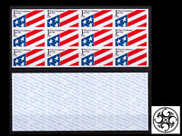 "US 1991 Sc#2522a: S/A ATM BOOKLET 12x ""F"" RATE 29¢ AMERICAN FLAG, MNH - AT FACE"