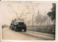 WWII 1944 US Army GI's Hollandia DEI NG Photo  large truck, Small Fry