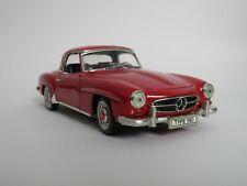 """ERTL Mercedes Benz 190SL 1/18 9.60"""" Metal Diecast Vintage Classic Sport Car"""