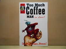 TOO MUCH COFFEE MAN #4 1995 Adhesive Comics 9.0 VF/NM Uncertified S. WHEELER