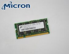 512MB MICRON NOTEBOOK DDR1 così-dimm memoria PC2700 mt8vddt6464hy-335d1