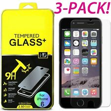 3 PACK Film Real Premium Tempered Glass Screen Protector for iPhone 8 Plus 5.5""
