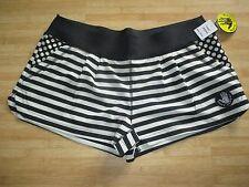 NEW BODY GLOVE M BIKINI SWIMSUIT Cover Up Shorts Boardshorts $46 Black Stripes